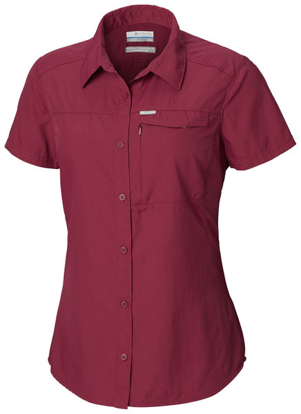 Columbia Silver Ridge 2.0 Short Sleeve Shirt - Women's Color: Wine Berry